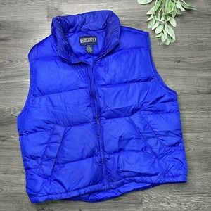 Lands' End large Goose Down Feathers Puffer Vest